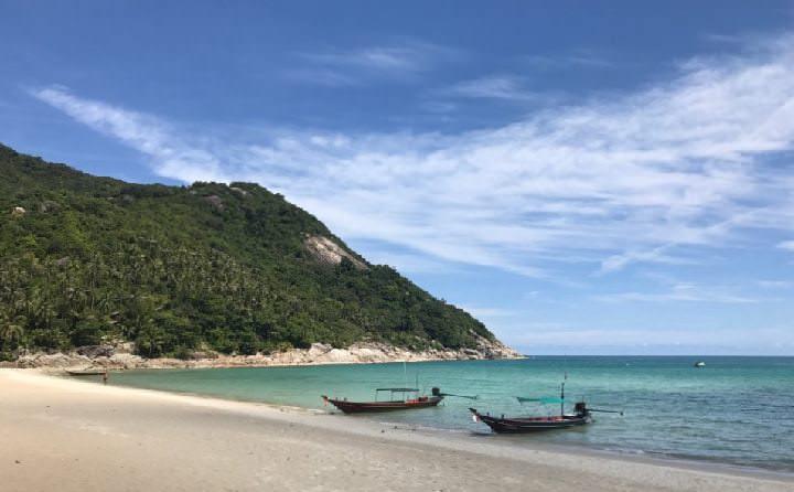 Spiagge della Thailandia Bottle Beach