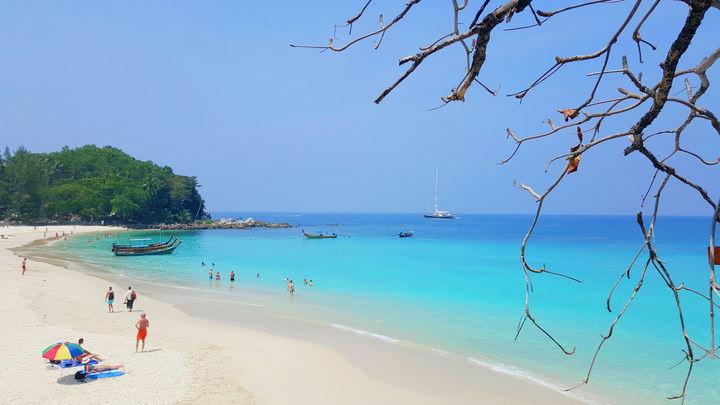 Spiagge della Thailandia Freedom Beach