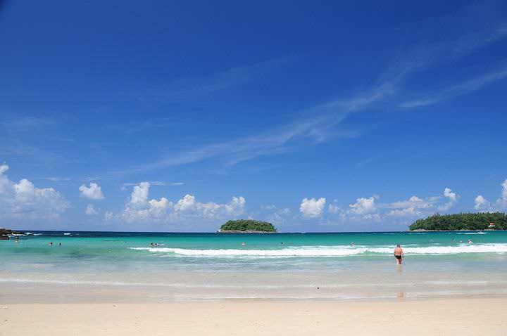 Spiagge della Thailandia Kata Beach