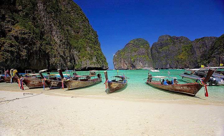 Spiagge della Thailandia Patong Beach
