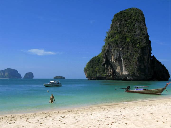 Spiagge della Thailandia Railay Beach