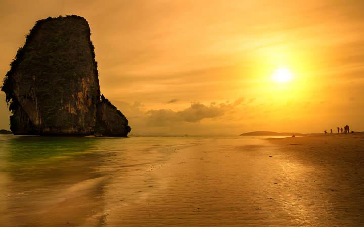 Spiagge della Thailandia Sunset Beach