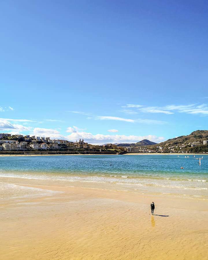 Spiaggia La Concha Spagna