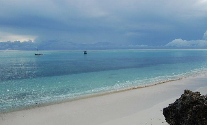 Zanzibar con pioggia