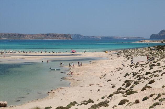 La spiaggia di Balos