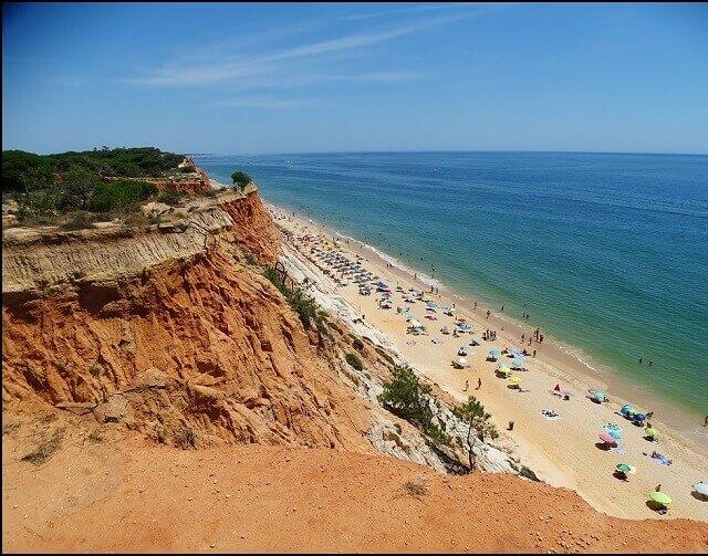 Praia del Falesia Portogallo