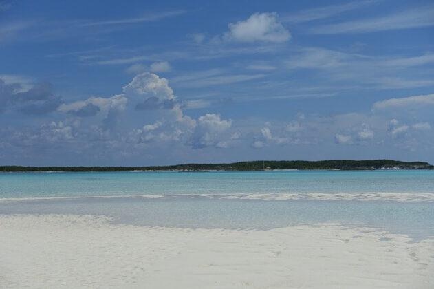 Spiaggia alle Bahamas