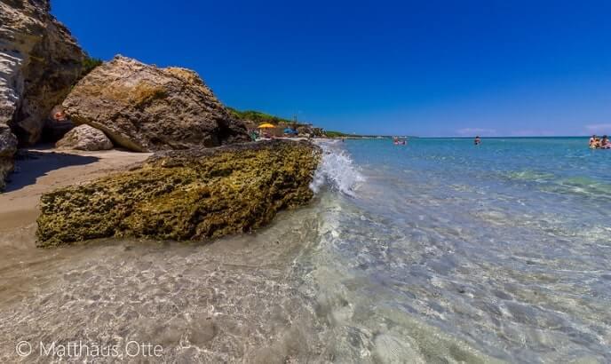 spiaggia baia dei turchi